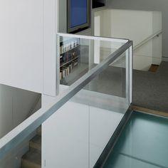 SoHo Duplex glass banister