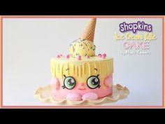 Ice Cream Drip Cake Tutorial- Rosie's Dessert Spot - YouTube