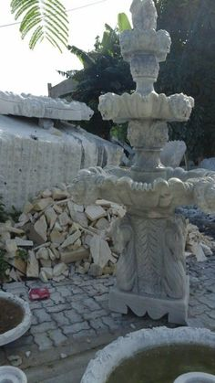 Fountain in grey marble.  Pls contact danang.marble@gmail.com or danangmarble.com.vn for order or more information.