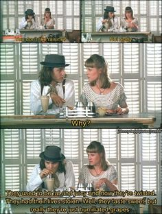 Benny and Joon. This movie makes me so happy!!!