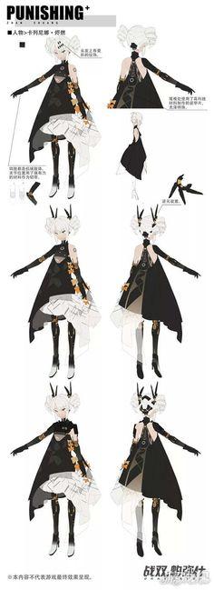 Source by cheekymonkeynrd clothes ideas female Character Model Sheet, Character Modeling, Character Costumes, Character Outfits, Character Concept, Character Art, Concept Art, Manga Girl, Anime Art Girl