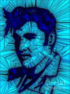 Elvis : art by Saundra Myles