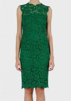 Cool green lace cocktail dress 2017