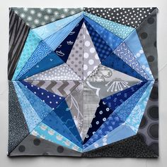 Global paper pieced star | Flickr - Photo Sharing!