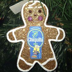 Gingerbread Minion fun!  @Chiquita Brands #stickaminiononit