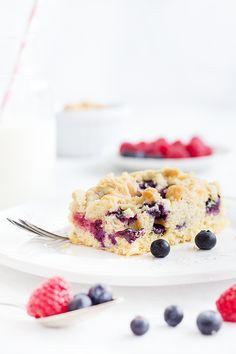 Beeren-Streusel-Kuchen
