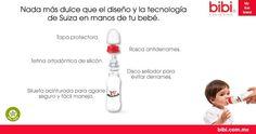 Todos nuestros productos están elaborados con la más alta tecnología suiza para brindarte calidad y confianza pues no contienen BPA.