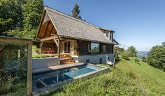 Hay Barn, Large Windows, Beams, Entrance, Restoration, Loft, Cabin, House Styles, Places