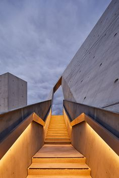 Studio Libeskind has finished work on the National Holocaust Monument in Ottawa, Canada. The monument, located near the Canadian War Museum, honors the millions of victims . Detail Architecture, Concrete Architecture, Modern Architecture Design, Studios Architecture, Chinese Architecture, Light Architecture, Facade Design, Futuristic Architecture, Amazing Architecture