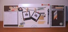 HOME DECOR: ..una cornicetta.. un calendario.. un notes.. per una scrivania! - Manu Arte&Cuore