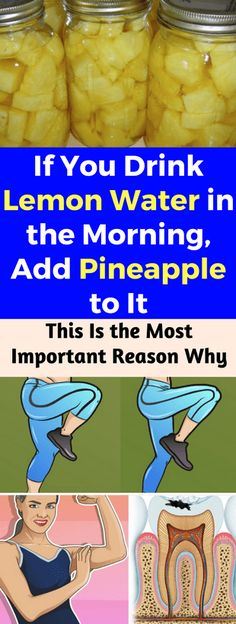 If You Drink Lemon Water in the Morning, Add Pineapple to It. This Is the Most Important Reason Why – healthycatcher