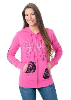 FALL 2014: New Shooting Hoodie - Zip Up in Pink with built-in ear protection!