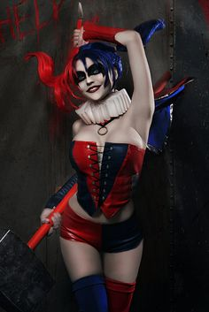 Harley Quinn (The New 52 version) from DC Universe Cosplayer:...