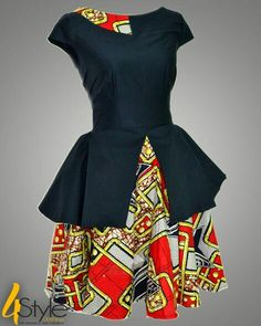 Vintage African fashion