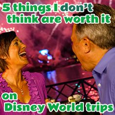 Although I tend to think most things are worth it at Disney World, there are a few I don't think are worth doing and today I've got a list of 5 things that I won't do on