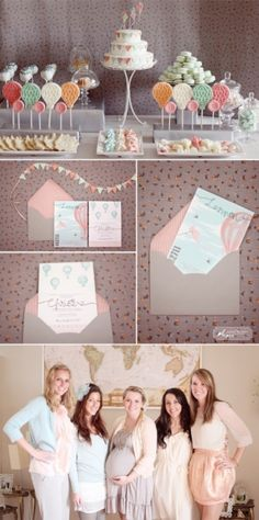 simply bloom baby shower