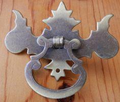 Set of 9 vintage Antique brass single bolt ring by BandCEmporium, $40.50