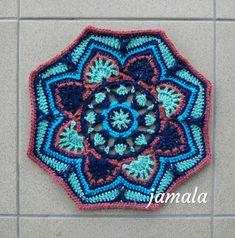 ~DÍLNA jamala~: Malé šití a háčkování Indigo, Blanket, Crochet, Chrochet, Blankets, Crocheting, Indigo Dye, Carpet, Ganchillo