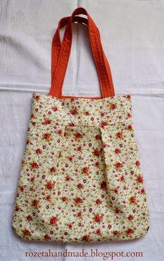 torba, torba w kwiatki, torba dwustronna