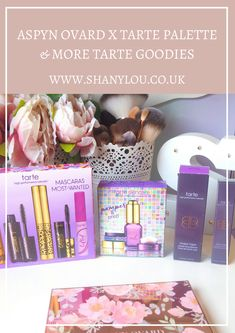 Aspyn Ovard x Tarte Palette & More Tarte Goodies