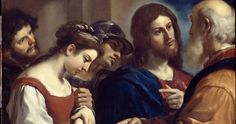 Religious Artist: The Woman taken in Adultery