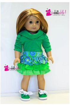 American made Girl Doll Clothes 18 inch Girl von AdollablebyRita