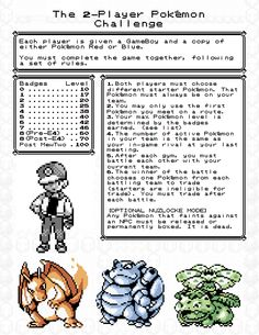 The 2-Player Pokemon Challenge