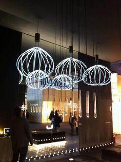 Da Saas Instruments la lampada Medusa design Mikko Paakkanen.  Salone del mobile 2013