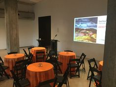 Customize your linens to match  your group! Orange for OSU!