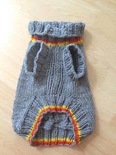 Free Knitting Pattern For Greyhound Jumper : Dog Sweater - Diamond Cable Knit - Ivory - Small - Yorkie - Chihuahua Trico...