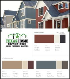 1000 images about exterior paint colors on pinterest for Best siding for homes in texas