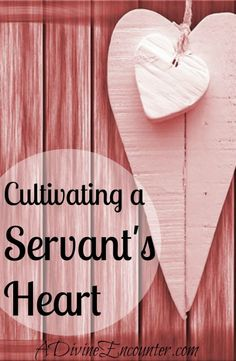 Refreshingly honest post unveils the challenge of cultivating a servant's heart, and considers its importance for Christians. (Philippians 2:6-7) http://adivineencounter.com/cultivating-a-servants-heart