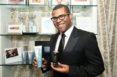 """""""I am already beautiful, but #Nerium products will keep me that way,"""" said actor and comedian Jordan Peele. Enjoy your new product. (Photo by Omar Vega/Invision for Backstage Creations/AP Images)"""