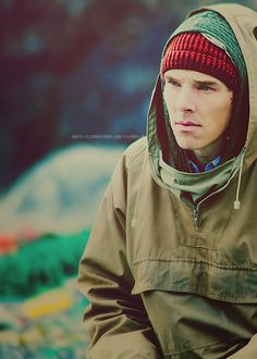 And cue all the 'Third Star' feels.  How is Benedict so beautiful?  I mean, look at him!