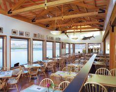 The Tides Wharf Restaurant - Bodega Bay, California- garlic fries were incredible! California Dreamin', Northern California, Cafe Venue, Places To Travel, Places To Go, Bodega Bay, In Vino Veritas, Sonoma County, Road Trip Usa