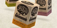 "Design Happy has created the new brand identity for the artisan Bakers Everything Bagels.   ""The Everything Bagels Brand which wholeheartedl..."