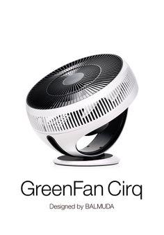 BALMUDA GreenFan Cirq   グリーンファンが、サーキュレーターを変える。