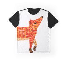 Adorable Fox Graphic T-Shirt