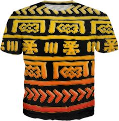 Check out #Saytoons new product Tribal Pattern T-Shirt  on Rageon https://www.rageon.com/products/tribal-pattern-t-shirt-1 on RageOn!