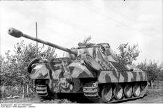 Panther en 1943 sur le front russe.