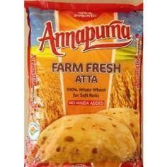 ANNAPURNA ATTA  FARM FRESH WHOLE WHEAT, 2KG