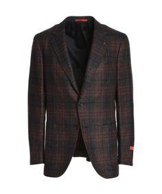 ae60cd7ad3e ISAIA Isaia Men s Grey Red Wool Blazer.  isaia  cloth