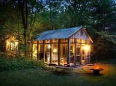 18 Breathtaking Cabins to Fuel Your Cabin Fever via Brit + Co