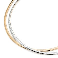 """Trish necklace, Lia Sophia reversible silver/gold toned Reg $110, 17"""". Reversible Necklace - The unique feature of flipping it from gold to silver gives you double value for your fashion dollar. Choose any pendant slides to complement its beauty."""