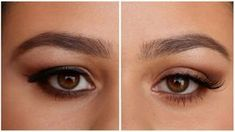 These are my tips and tricks for hooded eyes makeup. Hooded eyes are lovely, but as we get older they can make us look tired and make the eye shadow applicat. Hooded Eyelids, Eyeliner For Hooded Eyes, How To Apply Eyeliner, How To Apply Makeup, Winged Eyeliner, Makeup For Droopy Eyes, Applying Eye Makeup, Eye Makeup Tips, Smokey Eye Makeup