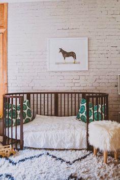 love this look + Stokke crib