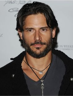 Oh, Joe Manganiello (Alcide on True Blood). Little does he know he's the hero of Book Three.