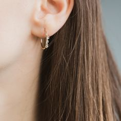 Herkimer Cristal Twist Earrings – Atelier Devi