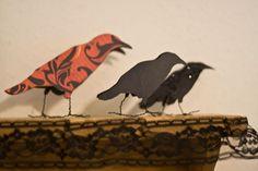 Paper Crows Printable