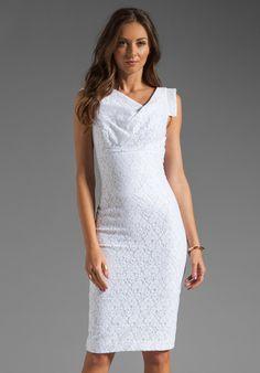 Jackie O Raschel Lace Dress - Lyst